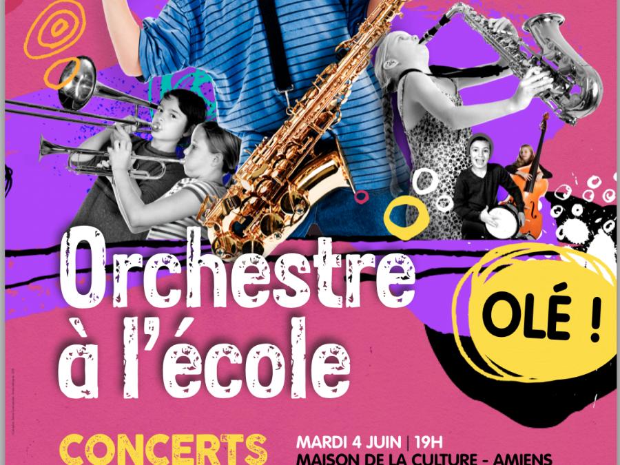 Performance pour Orchestre à l'école – 04.06 au 06.06.14